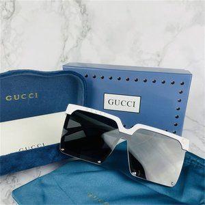 Classic woman's white frame Anti-UV sunglasses 💎